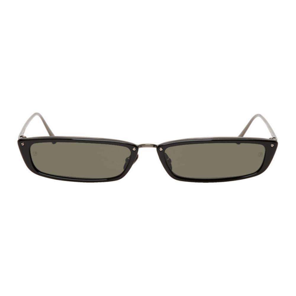 リンダ ファロー Linda Farrow Luxe メンズ メガネ・サングラス【Black 838 C2 Sunglasses】