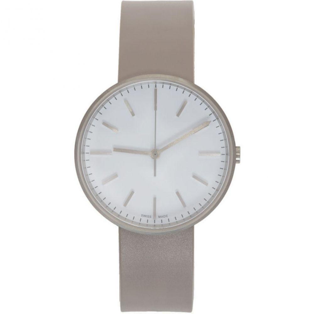 ユニフォーム ウェアーズ Uniform Wares メンズ 腕時計【Grey Rubber M37 Three Hand Watch】