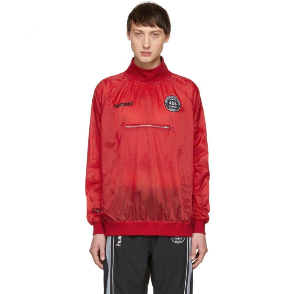 フォートゥーフォー 424 メンズ トップス スウェット・トレーナー【Red Hummel Edition Spray Sweatshirt】