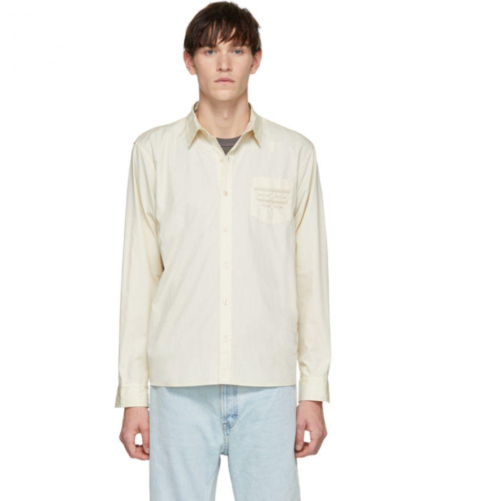 ビアンカシャンドン Bianca Chandon メンズ トップス シャツ【Off-White Western Shirt】