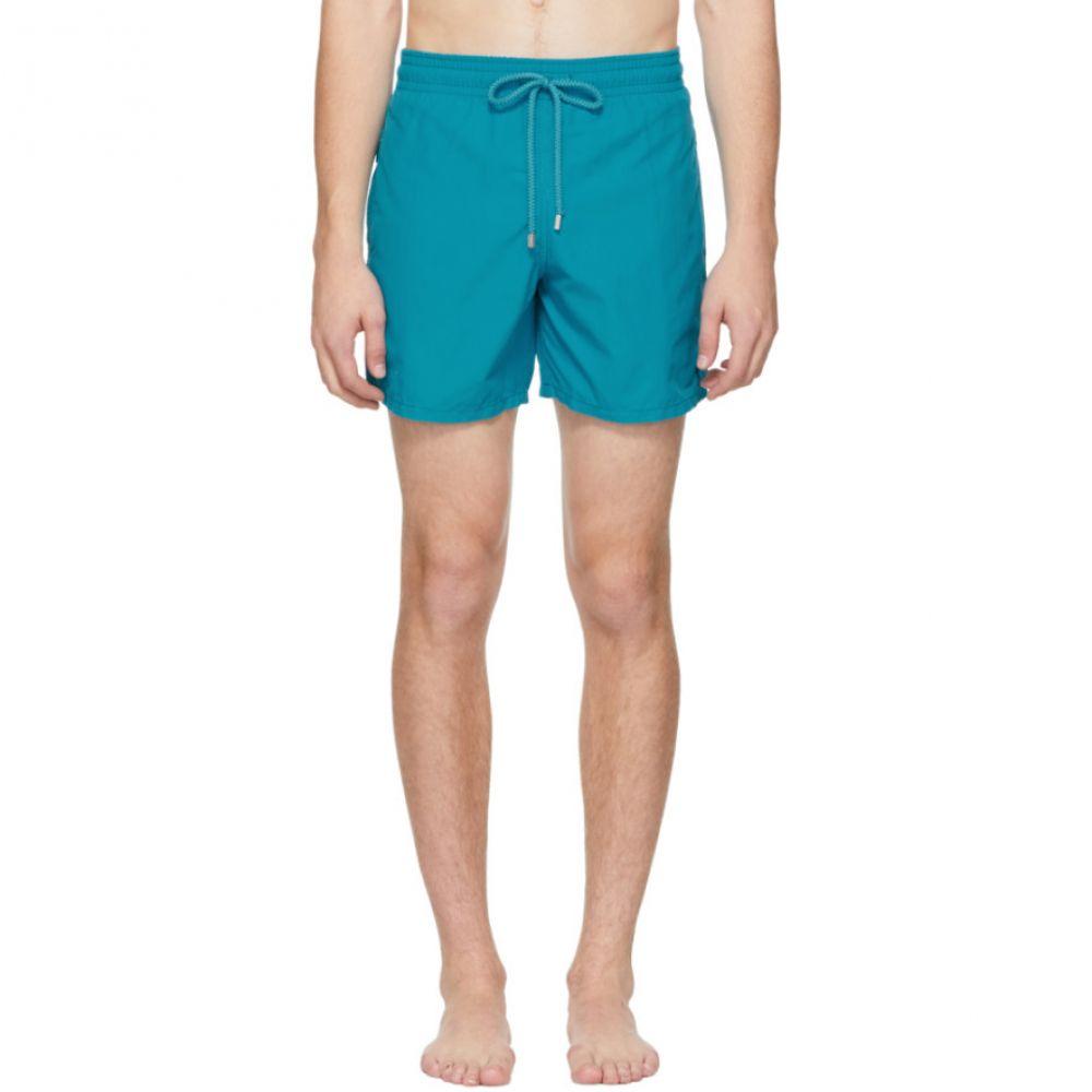 ヴィルブレクイン Vilebrequin メンズ 水着・ビーチウェア 海パン【Blue Magical Moorea Swim Shorts】