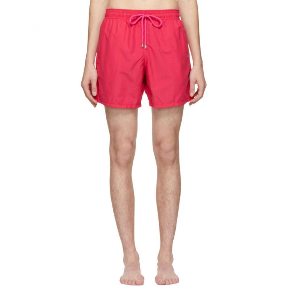 ヴィルブレクイン Vilebrequin メンズ 水着・ビーチウェア 海パン【Pink Tulum Moorea Swim Shorts】