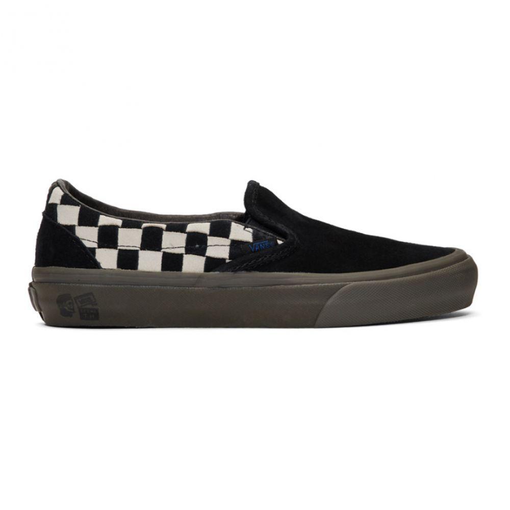 ヴァンズ Vans メンズ シューズ・靴 スリッポン・フラット【Black & White Taka Hayashi Edition Slip-On LX Sneakers】