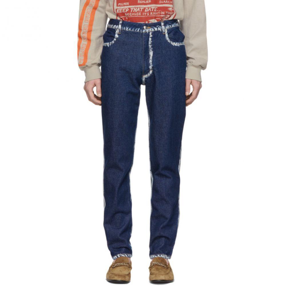 エコーズ ラッタ Eckhaus Latta メンズ ボトムス・パンツ ジーンズ・デニム【Blue Seam Painting EL Jeans】