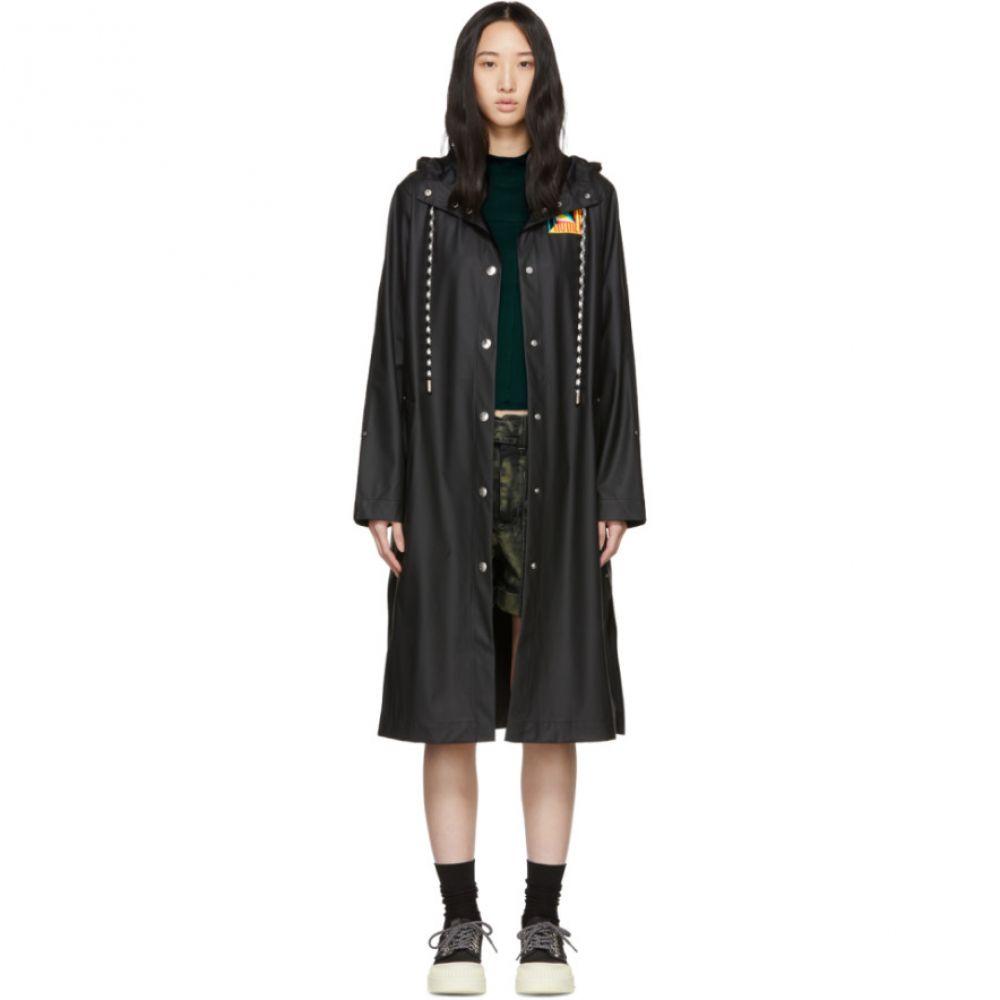 プロエンザ スクーラー Proenza Schouler レディース アウター レインコート【Black Hooded Raincoat】