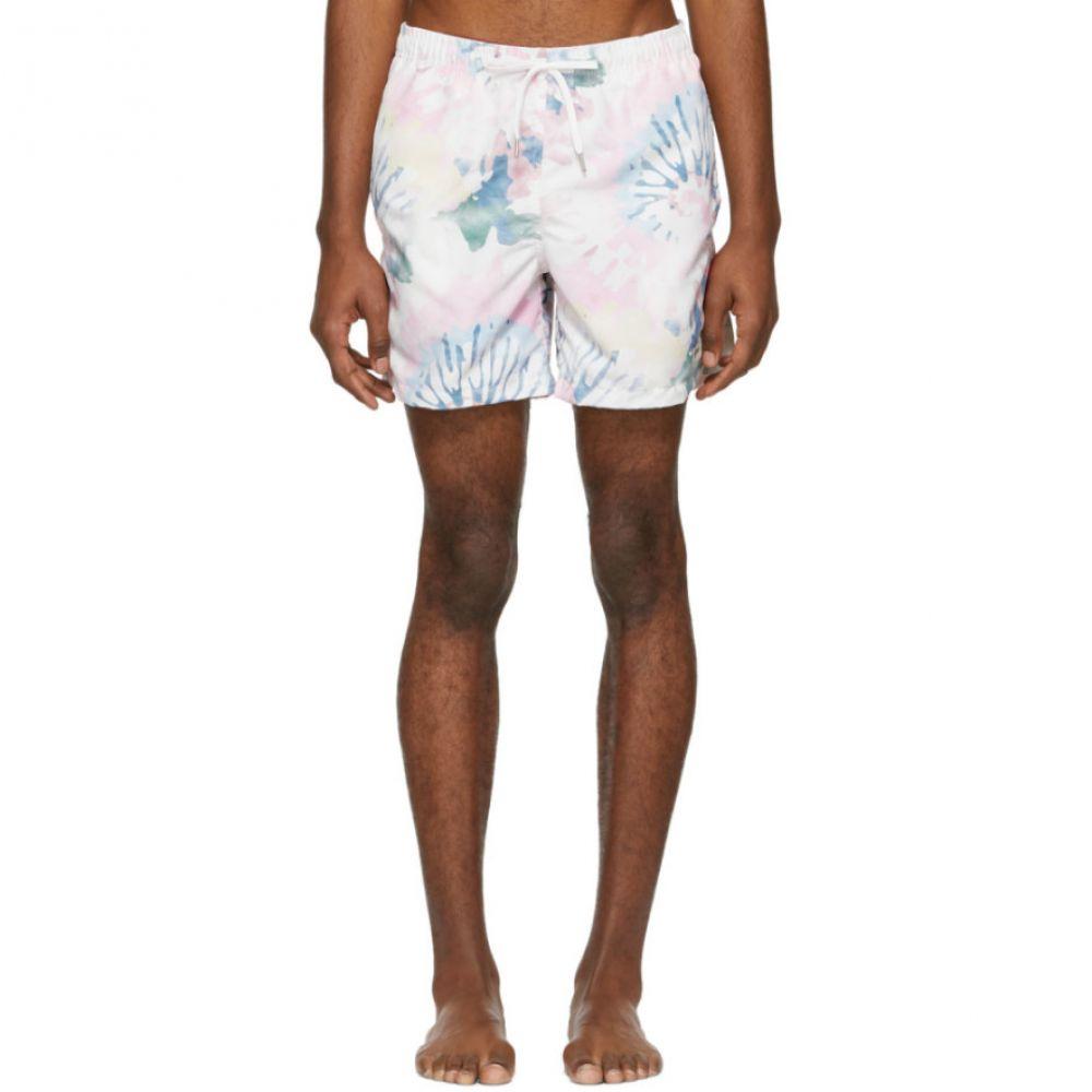 ベェイザァ Bather メンズ 水着・ビーチウェア 海パン【Multicolor Acid Tie-Dye Swim Shorts】