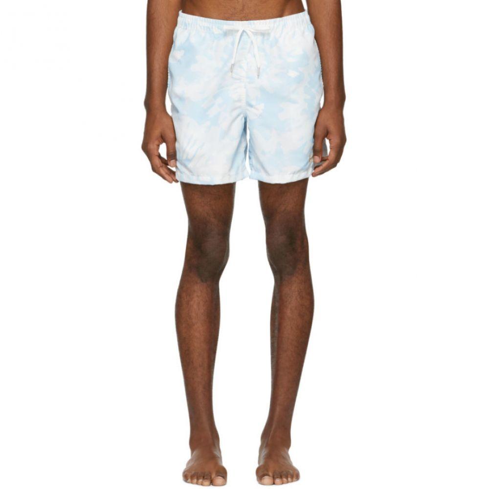 ベェイザァ Bather メンズ 水着・ビーチウェア 海パン【Blue Tie-Dye Swim Shorts】