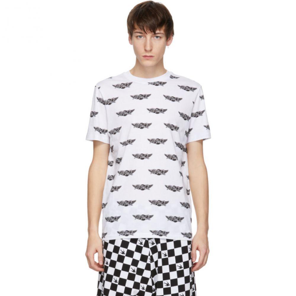 アレキサンダー マックイーン McQ Alexander McQueen メンズ トップス Tシャツ【White Racing T-Shirt】