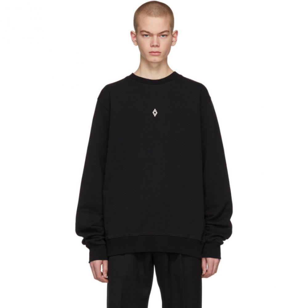 マルセロバーロン Marcelo Burlon County of Milan メンズ トップス スウェット・トレーナー【Black Heart Wings Sweatshirt】