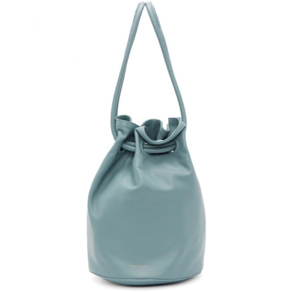マンサーガブリエル Drawstring Mansur Mansur Gavriel レディース バッグ ハンドバッグ【Blue Bag】 Drawstring Bag】, 笑和生活:c4290ff1 --- sunward.msk.ru