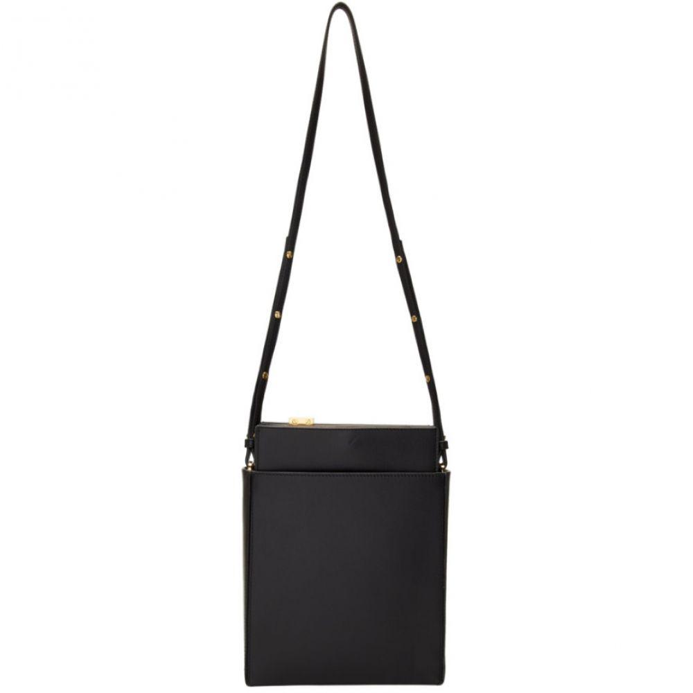 ロック Rokh レディース バッグ ショルダーバッグ【Black 'The Medium' Three Pouch File Bag】