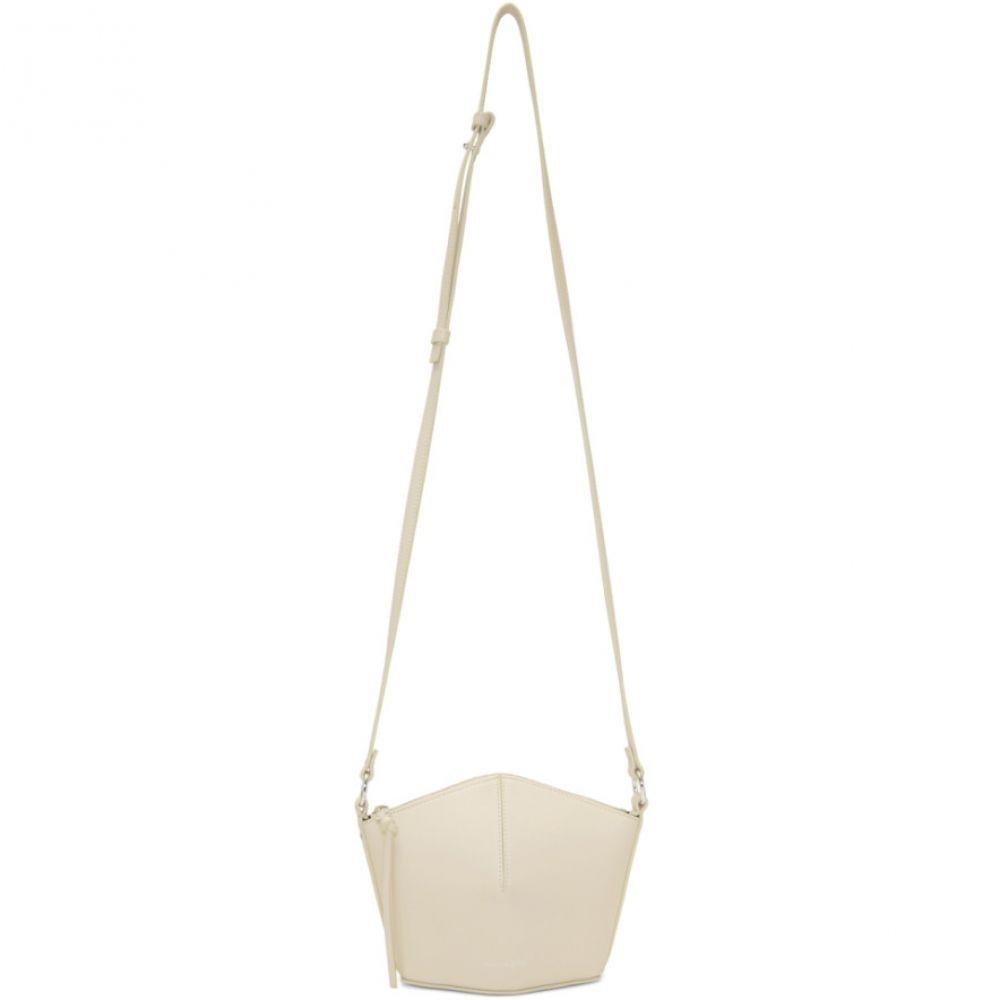 アレキサンダー マックイーン Alexander McQueen レディース バッグ ショルダーバッグ【Off-White Mini Nicole Bucket Bag】