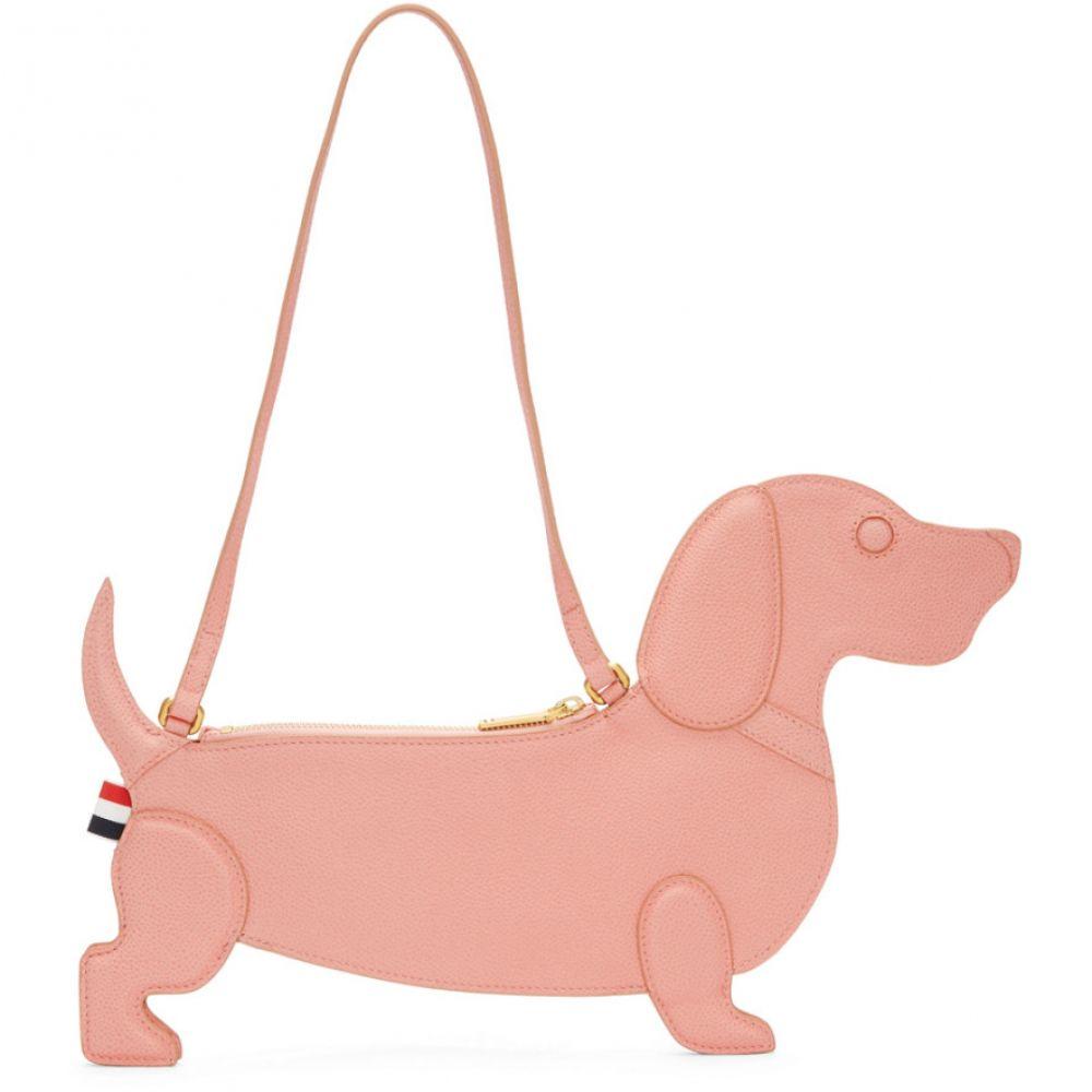 トム ブラウン Thom Browne レディース バッグ ショルダーバッグ【Pink Hector Icon Flat Clutch Bag】