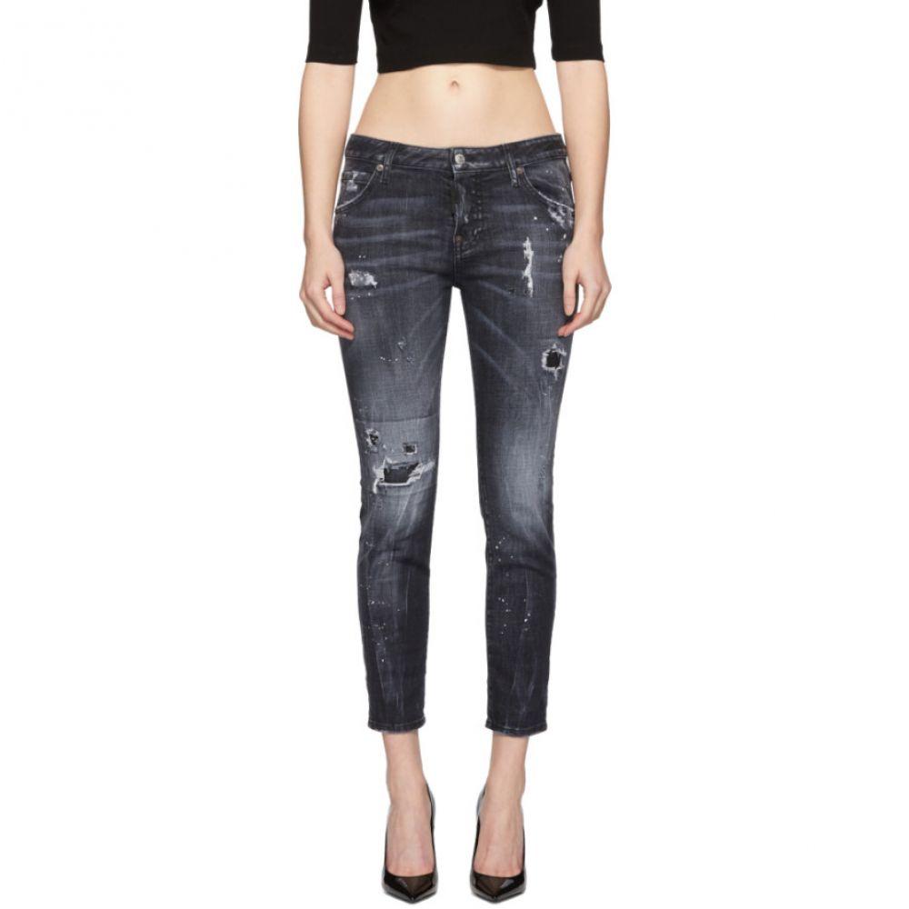 ディースクエアード Dsquared2 レディース ボトムス・パンツ ジーンズ・デニム【Black Stella Wash Cool Girl Jeans】