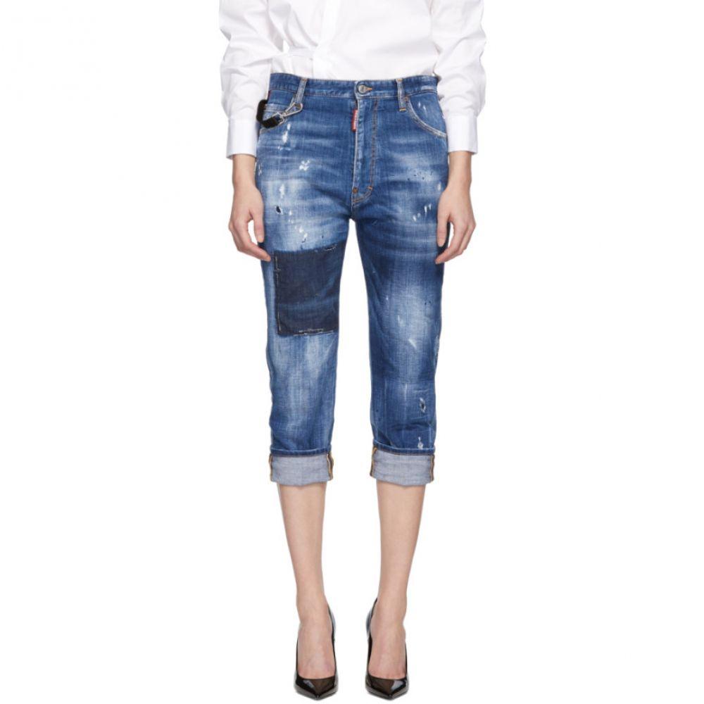 ディースクエアード Dsquared2 レディース ボトムス・パンツ ジーンズ・デニム【Blue Dark Vicious Dennis Jeans】