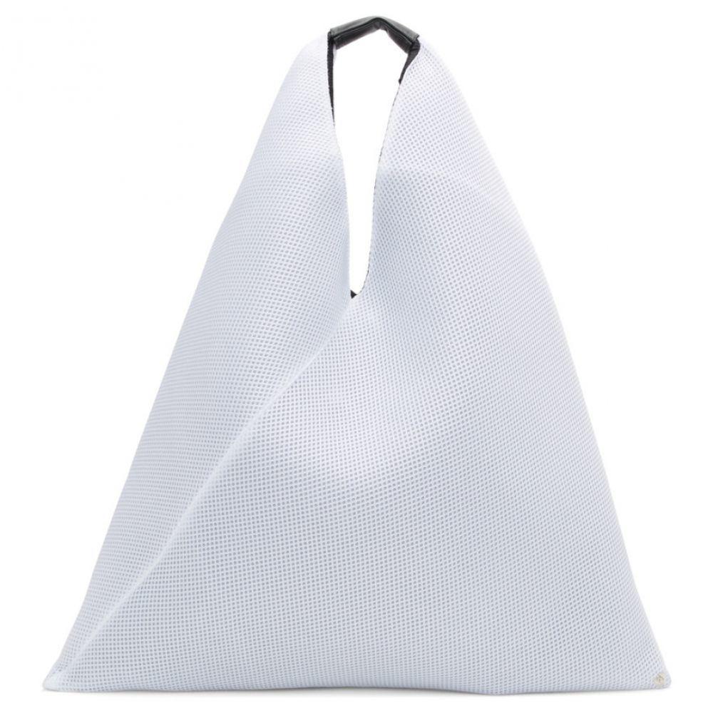 メゾン マルジェラ MM6 Maison Margiela レディース バッグ トートバッグ【White Mesh Tote】