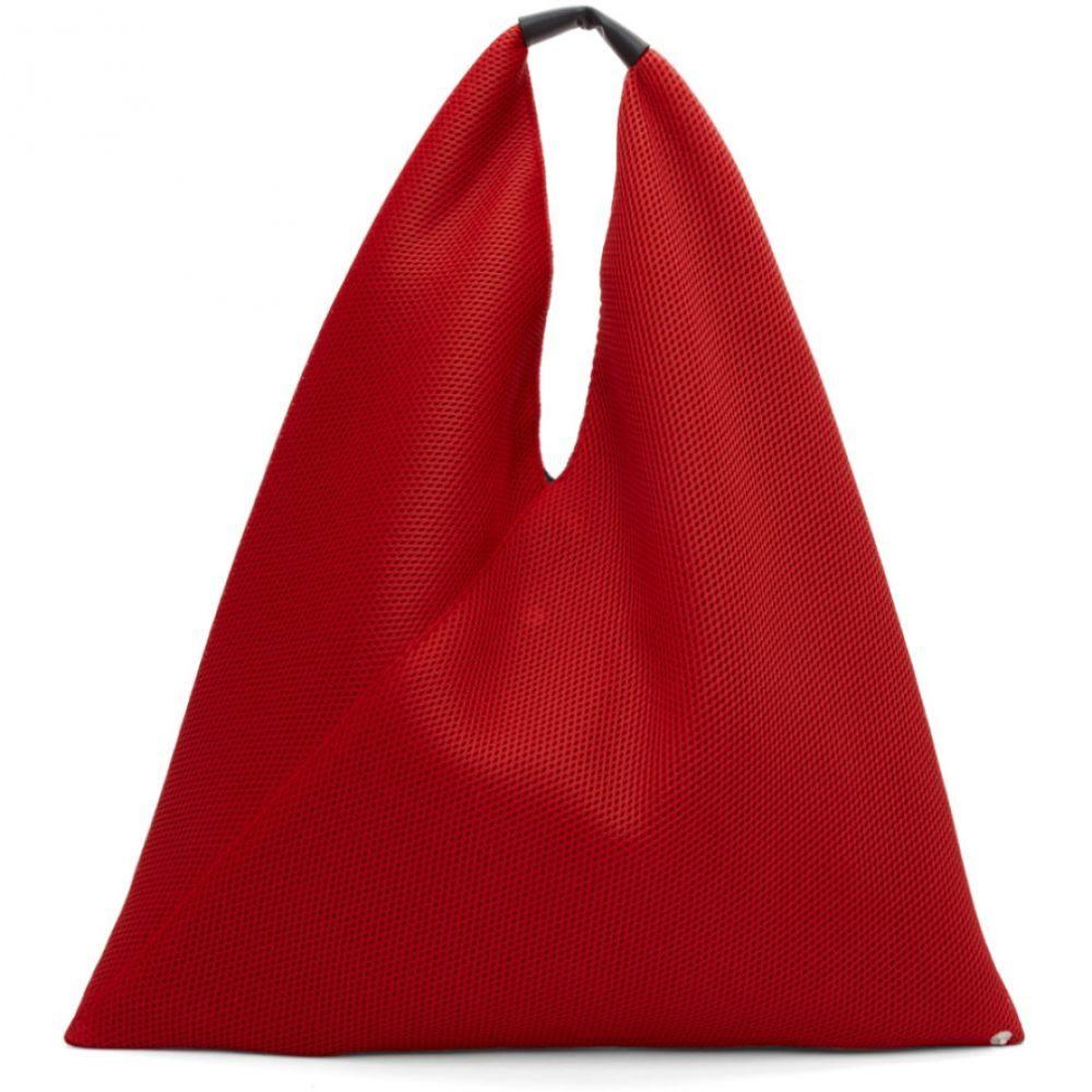 メゾン マルジェラ MM6 Maison Margiela レディース バッグ トートバッグ【Red Mesh Tote】