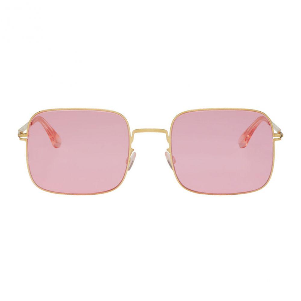 マイキータ Mykita レディース メガネ・サングラス【Gold & Pink Studio 7.1 Sunglasses】