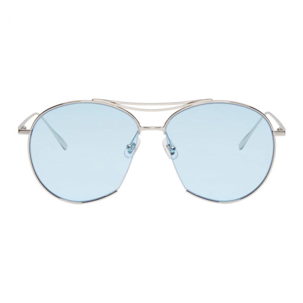ジェントルモンスター Gentle Monster レディース メガネ・サングラス【Silver & Blue Jumping Jack Sunglasses】