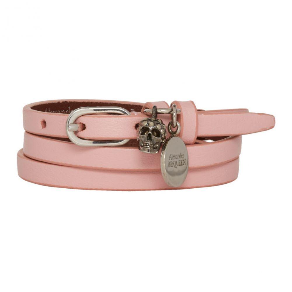 アレキサンダー マックイーン Alexander McQueen レディース ジュエリー・アクセサリー ブレスレット【Pink Multi Warp Bracelet】