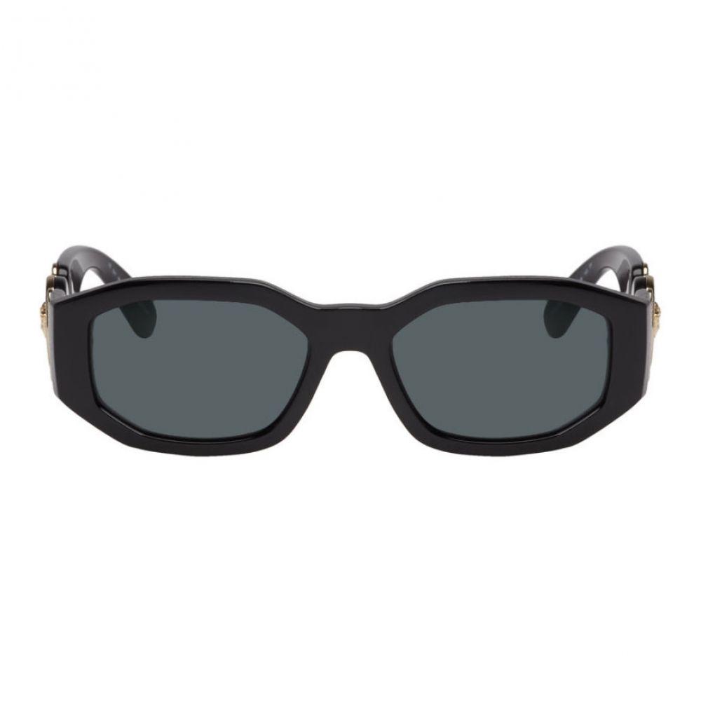 ヴェルサーチ Versace レディース メガネ・サングラス【Black Medusa Angular Sunglasses】