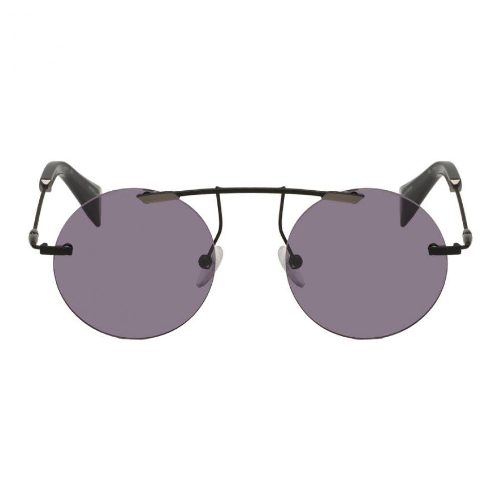 ヨウジヤマモト Yohji Yamamoto レディース メガネ・サングラス【Black Brow Bar Sunglasses】