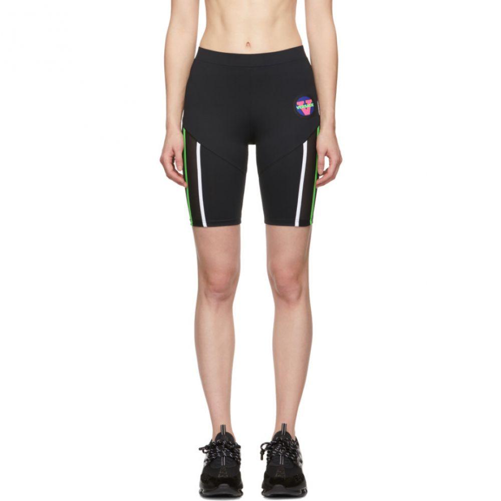 ヴェルサーチ Versace Underwear レディース 自転車 ボトムス・パンツ【Black 80's Bicycle Shorts】