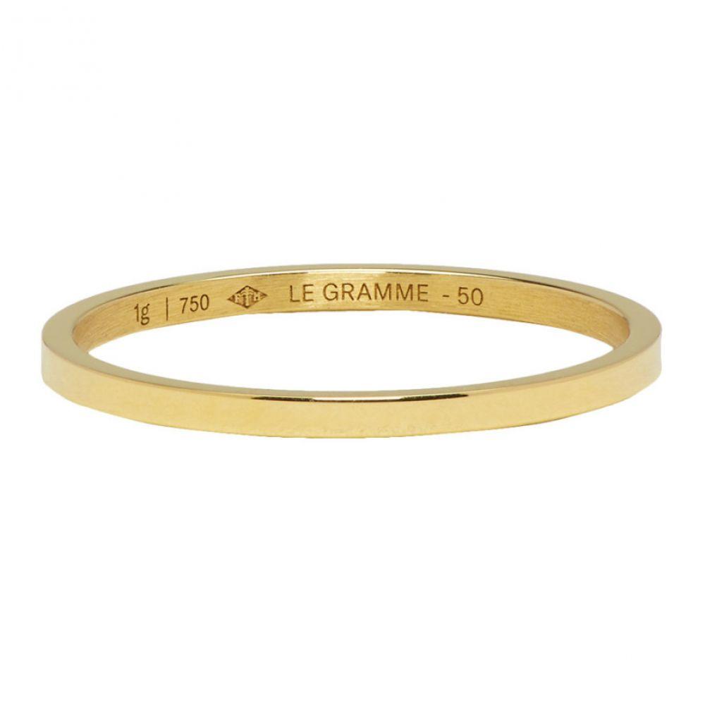 ルグラム Le Gramme レディース ジュエリー・アクセサリー 指輪・リング【Gold Polished 'Le 1 Grammes' Wedding Ring】