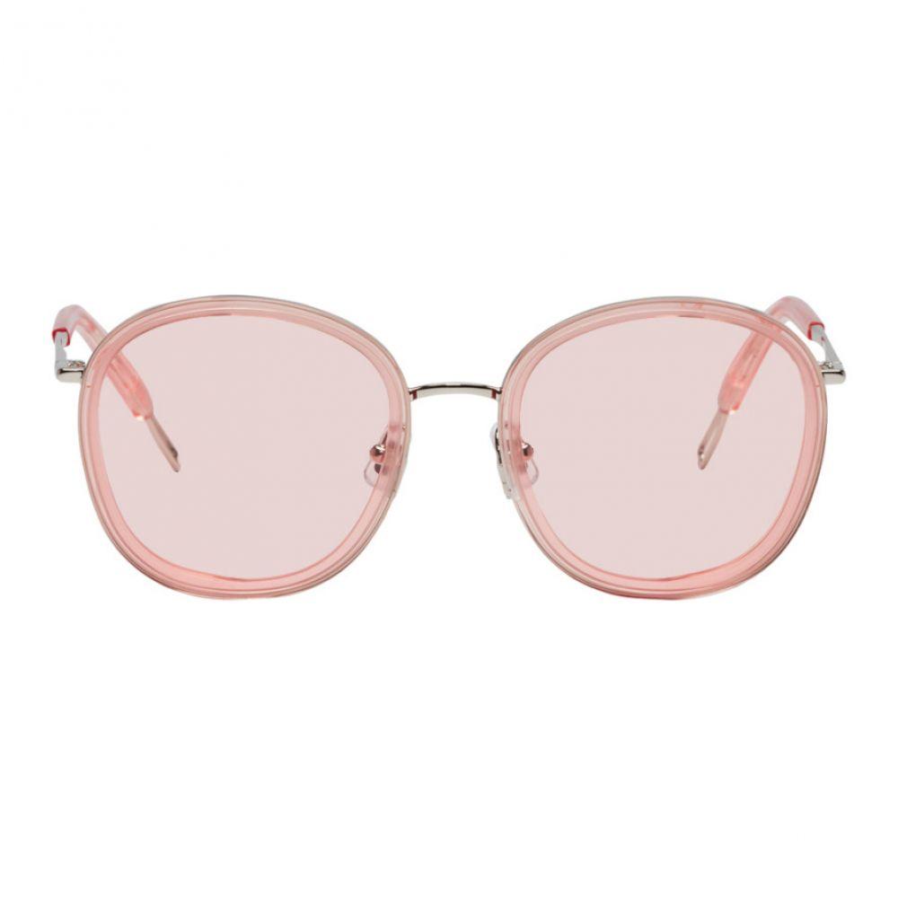 ジェントルモンスター Gentle Monster レディース メガネ・サングラス【Pink & Silver Ollie Sunglasses】