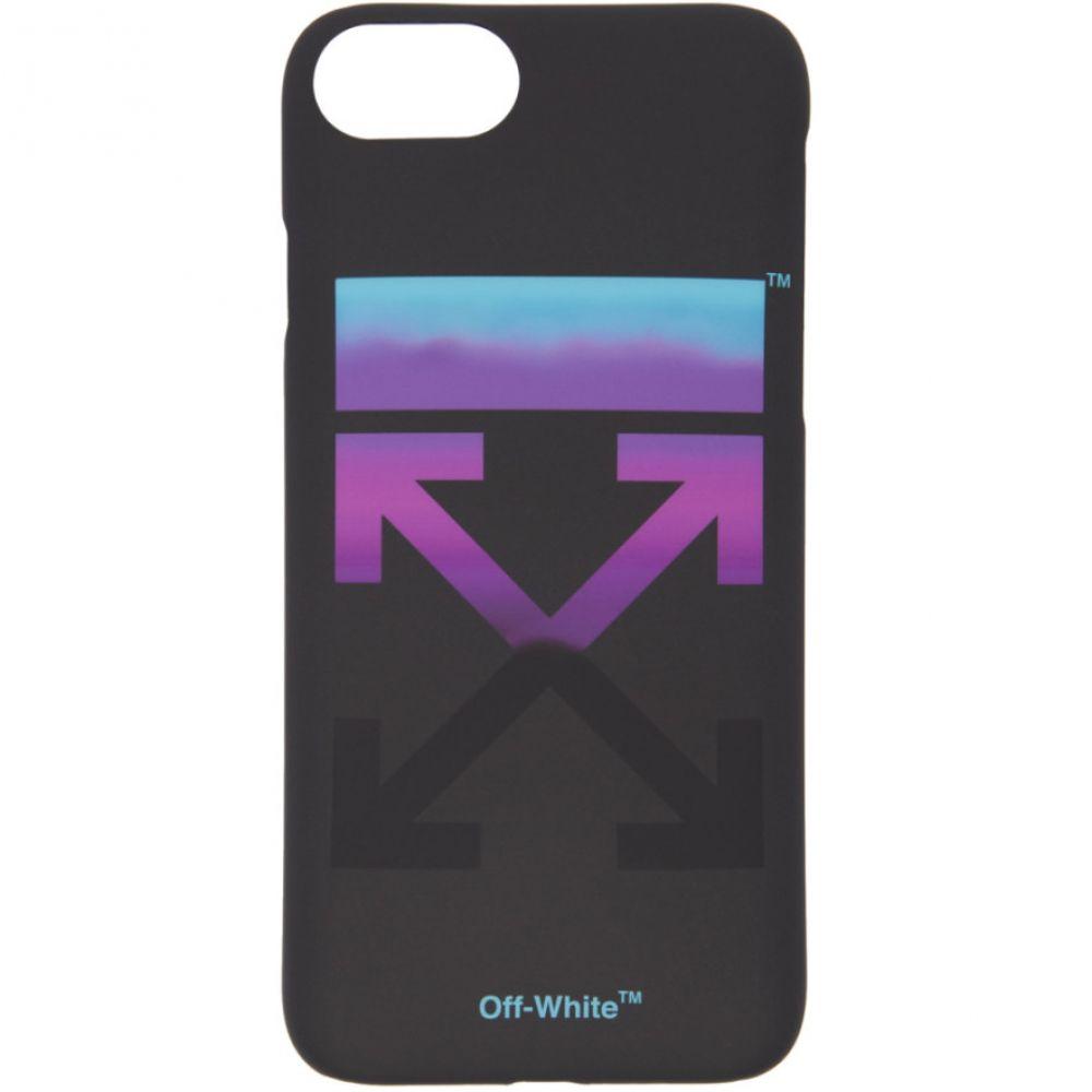 オフ-ホワイト Off-White レディース iPhone (X)ケース【Black Gradient iPhone X Case】