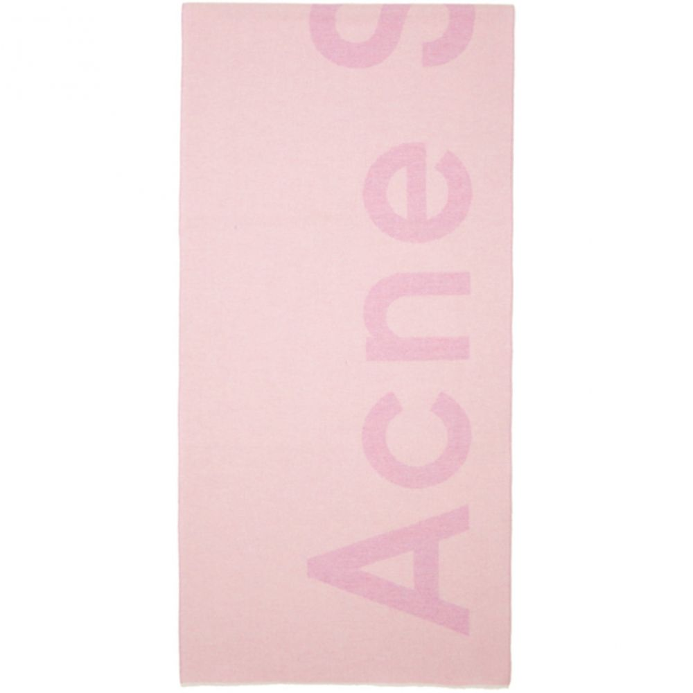 アクネ ストゥディオズ Acne Studios レディース マフラー・スカーフ・ストール【SSENSE Exclusive Pink Toronty Scarf】