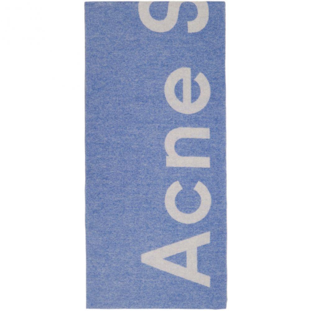 アクネ ストゥディオズ Acne Studios レディース マフラー・スカーフ・ストール【Blue Toronty Scarf】
