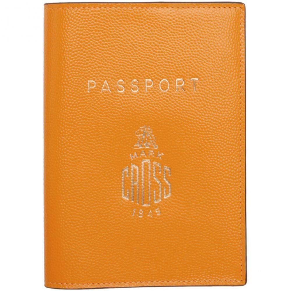 マーククロス Mark Cross レディース パスポートケース【Yellow Passport Holder】