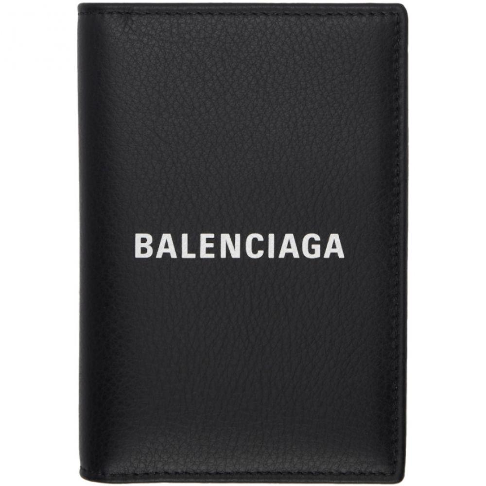 バレンシアガ Balenciaga レディース パスポートケース【Black Everyday Passport Holder】