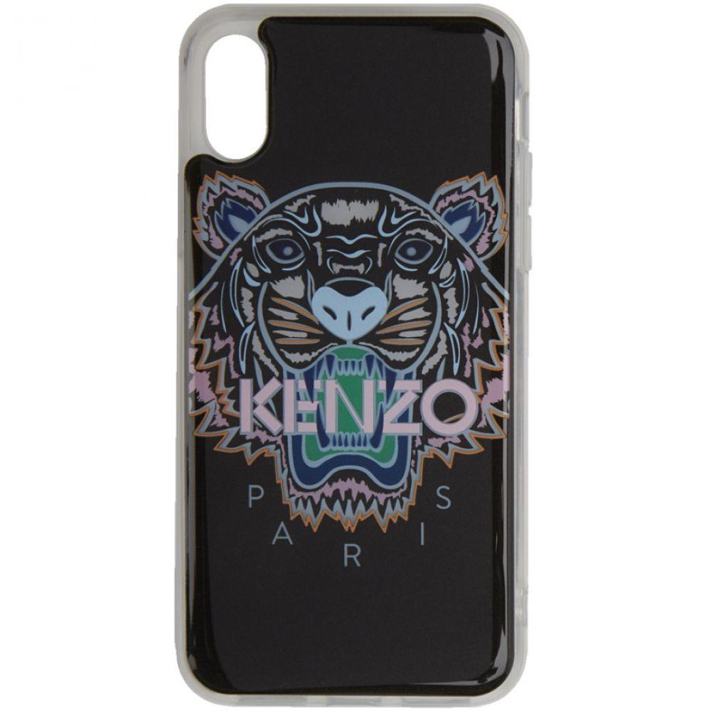 ケンゾー Kenzo レディース iPhone (X)ケース【Black & Pink Tiger iPhone X/XS Case】