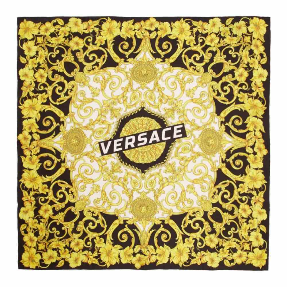 ヴェルサーチ Versace レディース マフラー・スカーフ・ストール【Multicolor Silk Baroque Scarf】