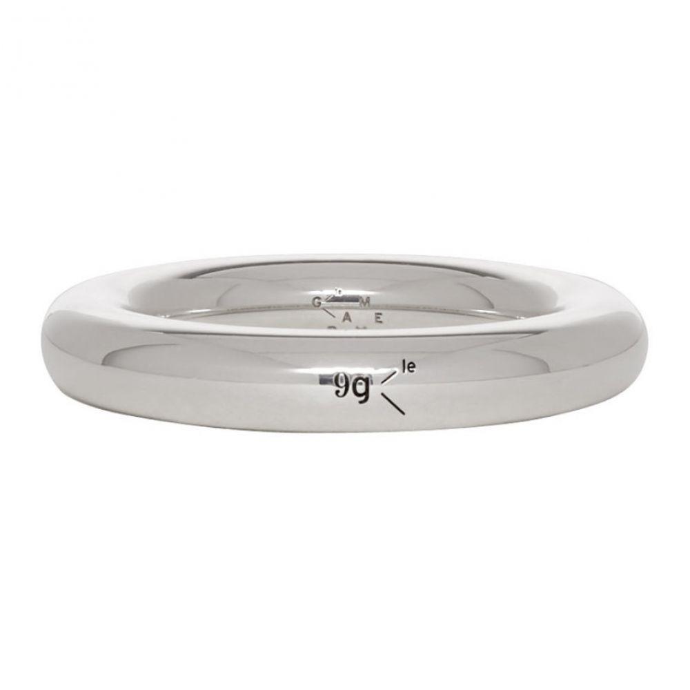 ルグラム Le Gramme レディース ジュエリー・アクセサリー 指輪・リング【Silver Polished 'Le 9 Grammes' Bangle Ring】