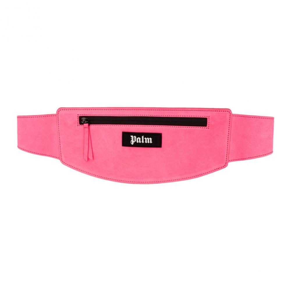 パーム エンジェルス Palm Angels レディース バッグ ボディバッグ・ウエストポーチ【Pink Logo Fanny Pack】