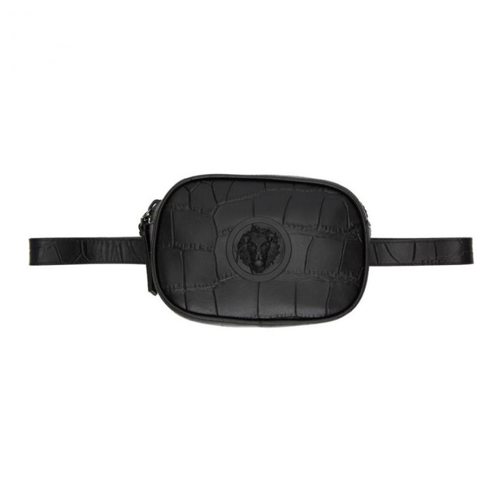 ヴェルサーチ Versus レディース バッグ ボディバッグ・ウエストポーチ【Black Croc Belt Bag】