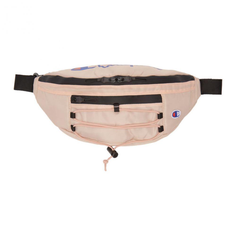チャンピオン Champion Reverse Weave レディース バッグ ボディバッグ・ウエストポーチ【Pink Lace-Up Logo Belt Bag】