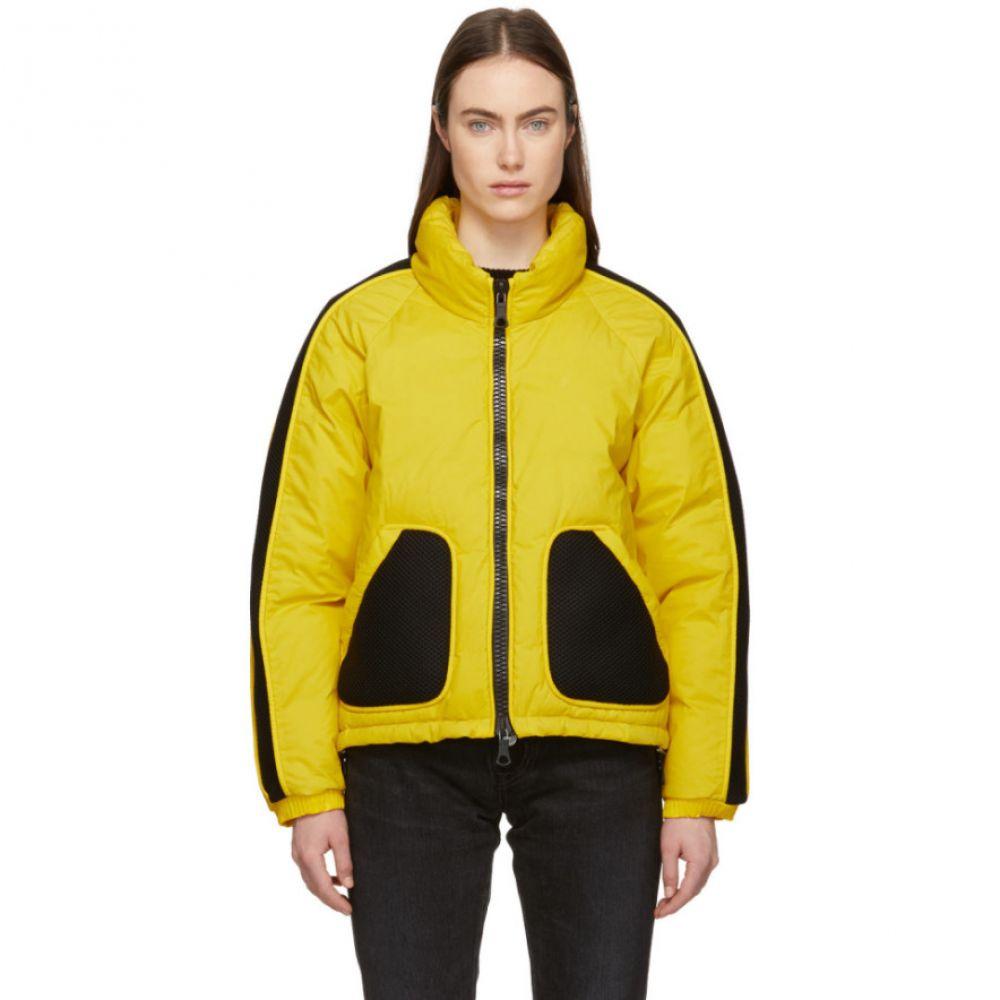 イエンキイエンキ Ienki Ienki レディース アウター ダウン・中綿ジャケット【Yellow & Black Down Coated Jacket】