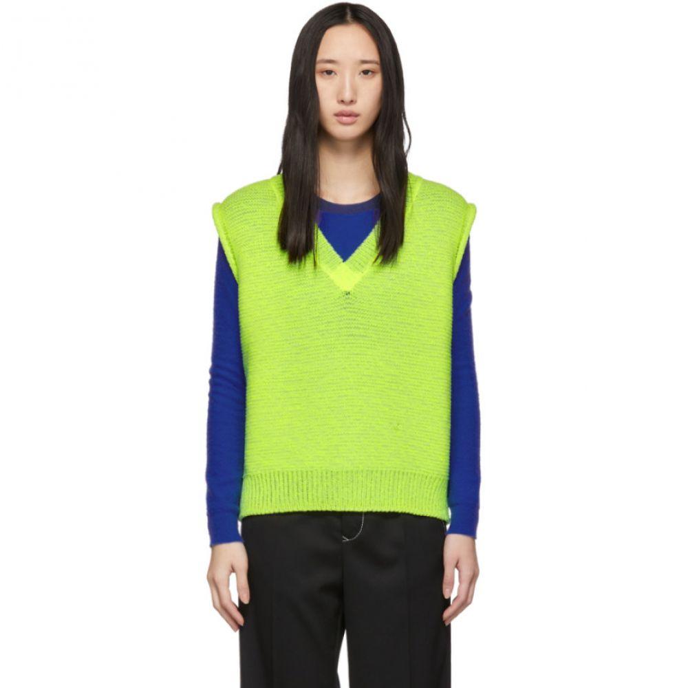 アクネ ストゥディオズ Acne Studios レディース トップス ベスト・ジレ【Yellow Sweater Vest】