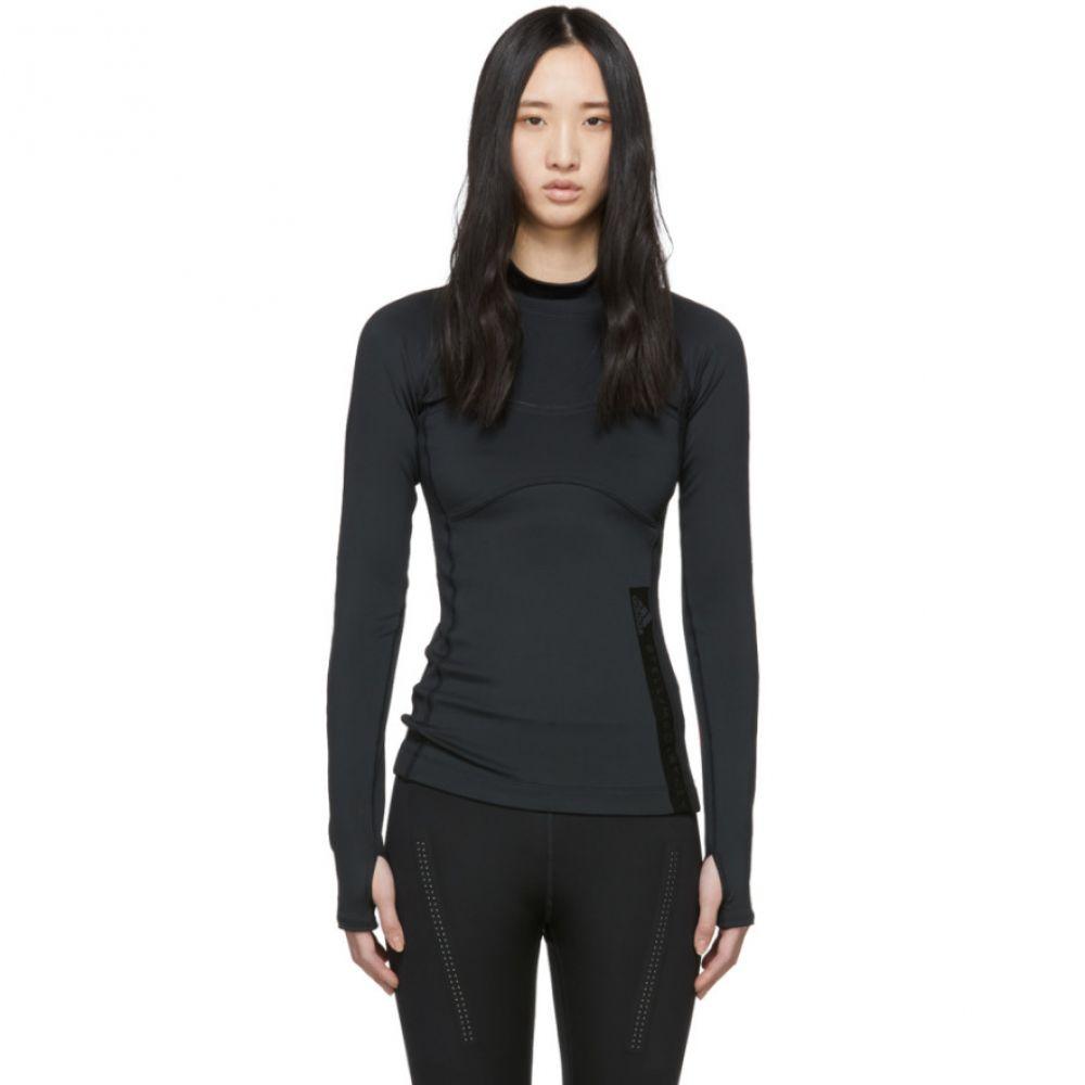 アディダス adidas by Stella McCartney レディース トップス Tシャツ【Black Run T-Shirt】
