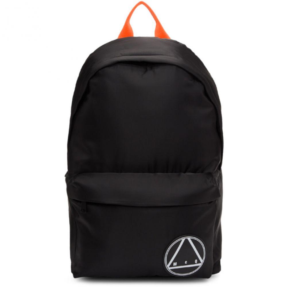 アレキサンダー マックイーン McQ Alexander McQueen メンズ バッグ バックパック・リュック【Black Oversized Glyph Backpack】