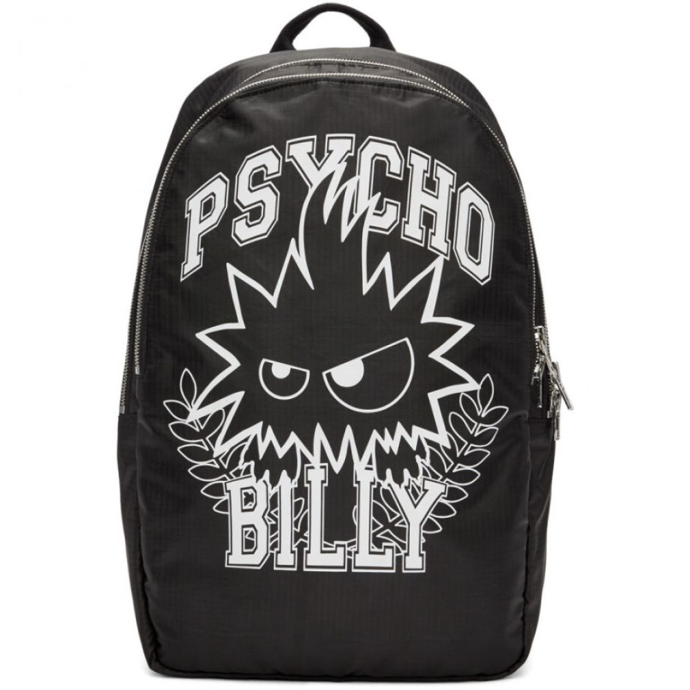 アレキサンダー マックイーン McQ Alexander McQueen メンズ バッグ バックパック・リュック【Black 'Psycho Billy' Backpack】