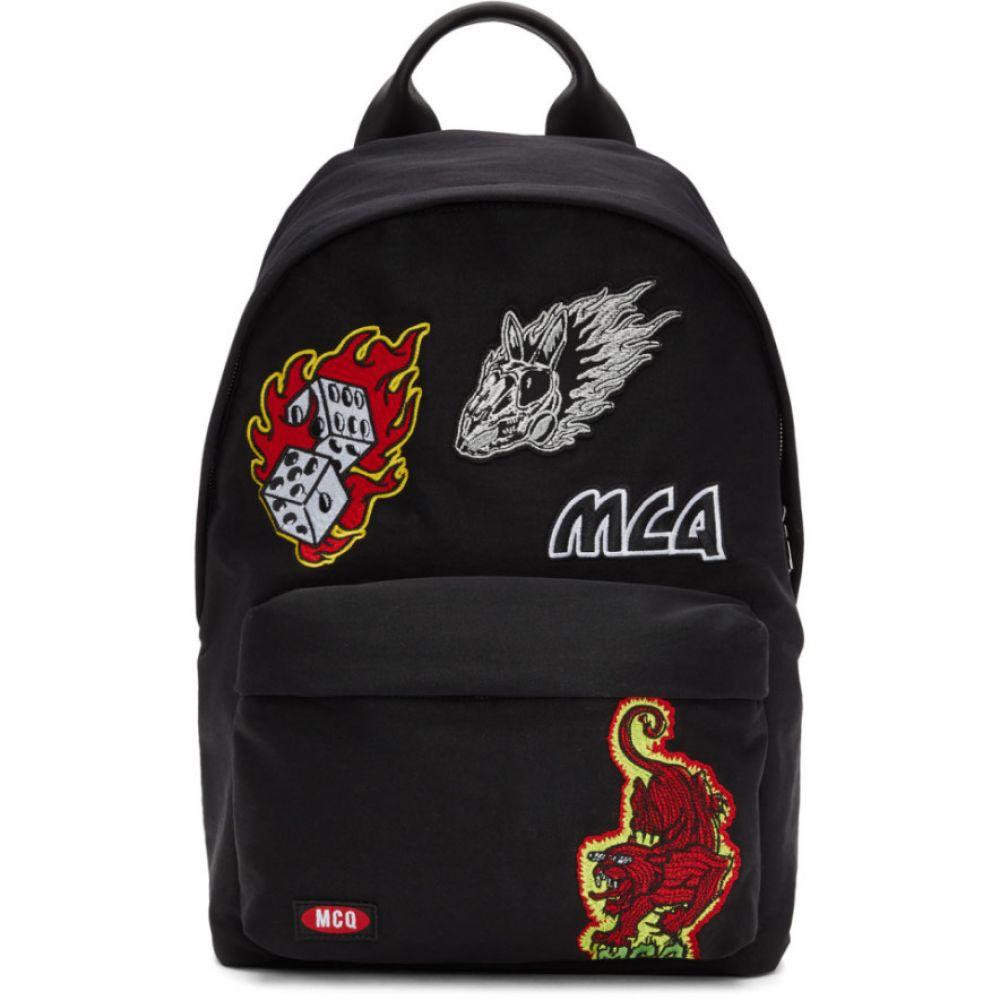 アレキサンダー マックイーン McQ Alexander McQueen メンズ バッグ バックパック・リュック【Black Patches Classic Backpack】