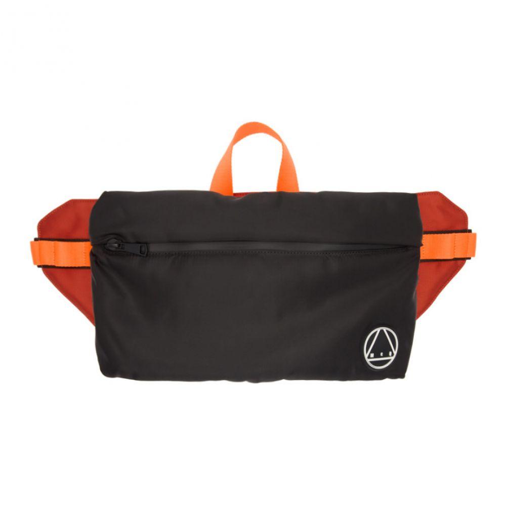 アレキサンダー マックイーン McQ Alexander McQueen メンズ バッグ ボディバッグ・ウエストポーチ【Black Logo Waist Bag】