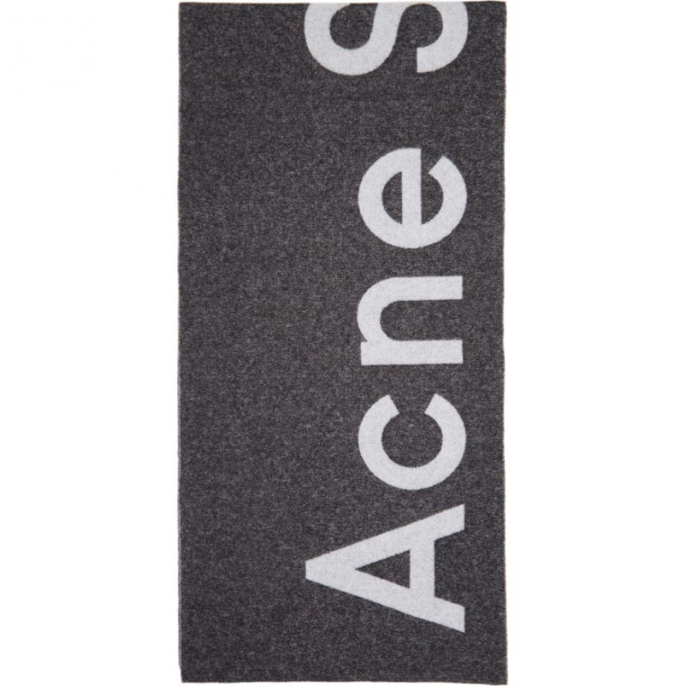 アクネ ストゥディオズ Acne Studios メンズ マフラー・スカーフ・ストール【Black Toronty Scarf】