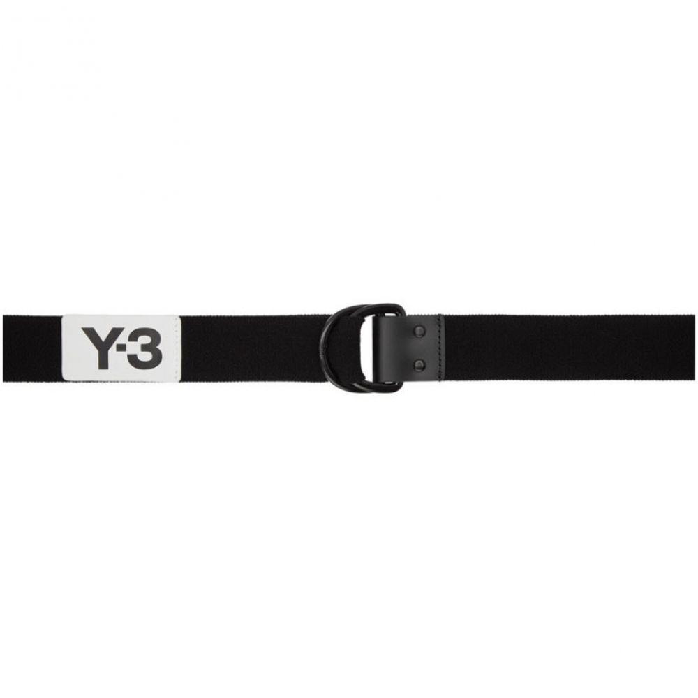 ワイスリー Y-3 メンズ ベルト【Black Elastic Belt】