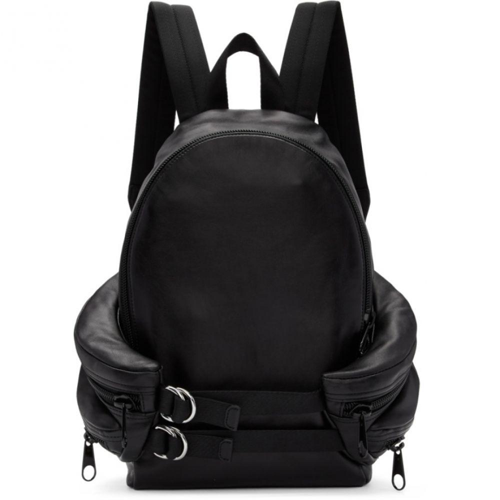 アレキサンダー ワン Alexander Wang メンズ バッグ バックパック・リュック【Black Double Buckle Backpack】